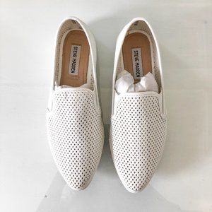 Steve Madden White Virgoo Shoes